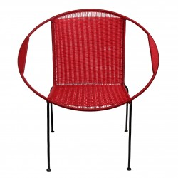 Classic Togo red chair